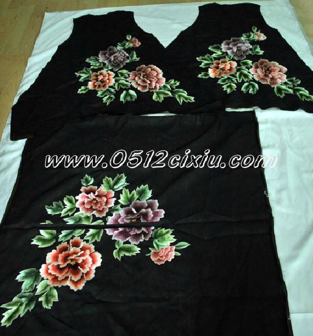 苏绣-旗袍